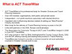what is act travelwise