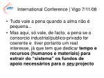 international conference vigo 7 11 0812