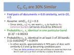c 1 c 2 are 30 similar