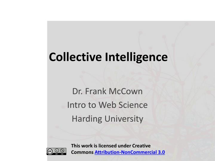 collective intelligence n.