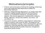 motivations principles