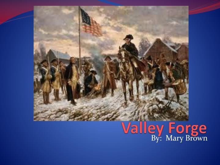 valley forge n.