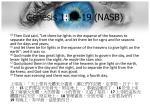 genesis 1 14 19 nasb