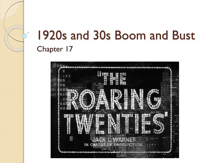 an overview of the american roaring twenties