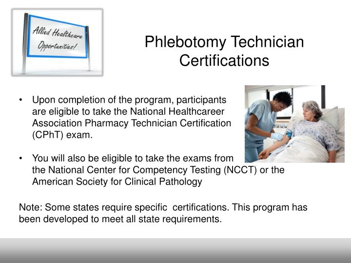 Ppt Phlebotomy Technician Role Overview Powerpoint Presentation