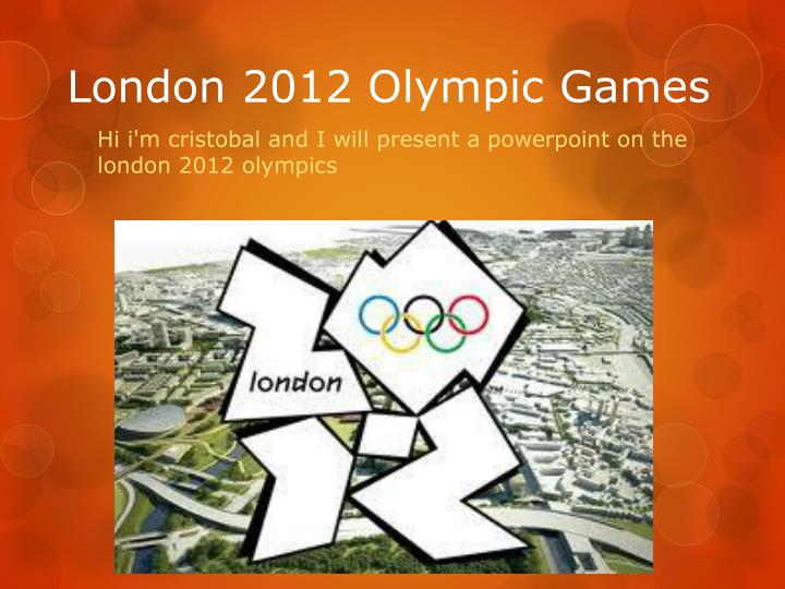 london 2012 olympic games n.
