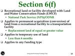 section 6 f