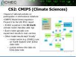 cs2 cmip5 climate sciences