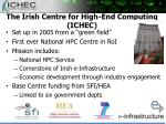 the irish centre for high end computing ichec