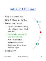 add a 3 rd cft layer