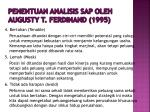penentuan analisis sap oleh augusty t ferdinand 19951