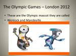 the olympic games london 20121