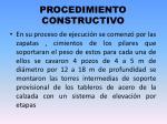 procedimiento constructivo