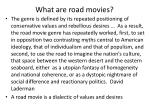 what are road movies5