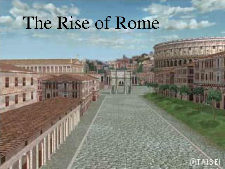 the rise of rome n.