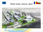 green areas leisure sport