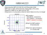 grb 041223