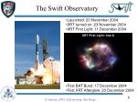 the swift observatory