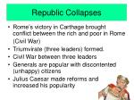 republic collapses