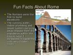 fun facts about rome2