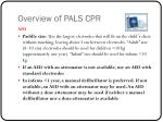overview of pals cpr1