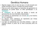 gen tica humana