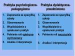 praktyka psychologiczno pedagogiczna