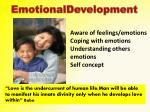 emotionaldevelopment