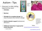 autism tips