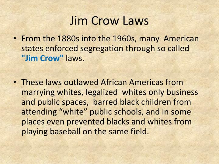 changes in the united states segregation laws Civil rights: timeline of events many civil rights in the united states ferguson approved laws requiring racial segregation, as long as those laws did.