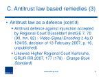 c antitrust law based remedies 3