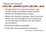 research based1