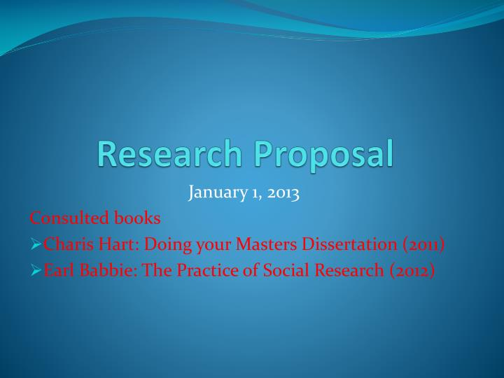 dissertation proposal presentation How do you write a proposal for a dissertation download examples of successful proposals.