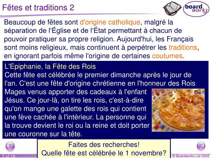 Fêtes et traditions 2