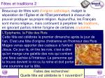f tes et traditions 2