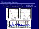 phytoplankton algorithms