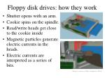 floppy disk drives how they work