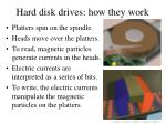 hard disk drives how they work