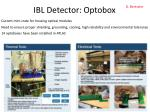 ibl detector optobox