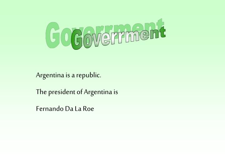 Goverrment