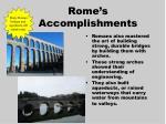 rome s accomplishments2