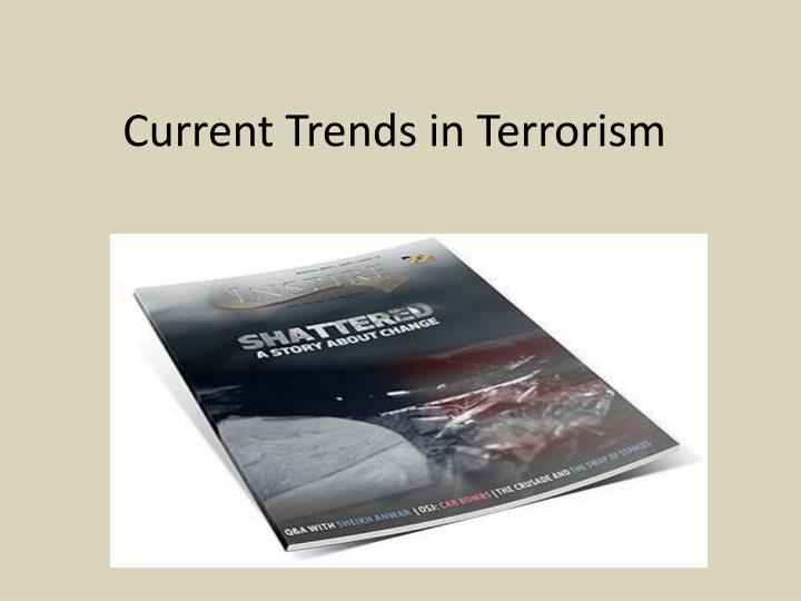 current trends in terrorism n.