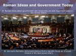 roman ideas and government today2