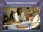 roman influence on culture1