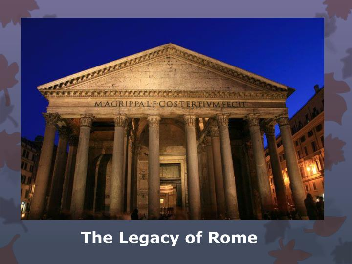 the legacy of rome n.