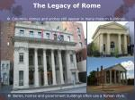 the legacy of rome11