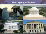 the legacy of rome12