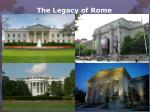 the legacy of rome13