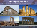 the legacy of rome4
