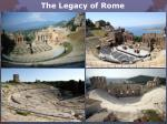 the legacy of rome8